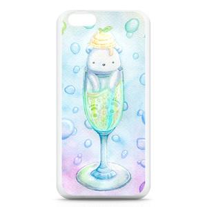 スパークリング白くまさんiPhoneケース・カバー