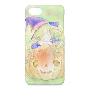 かぼちゃ好きな魔女 iPhoneケース・カバー
