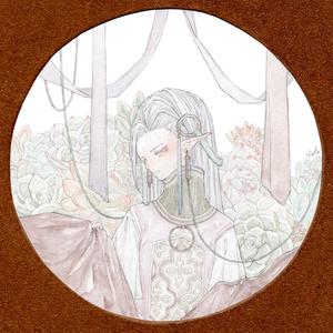 「箱庭Ⅱ」額装