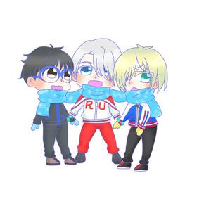 ユーリ!!! on ICE マフラーラミカ