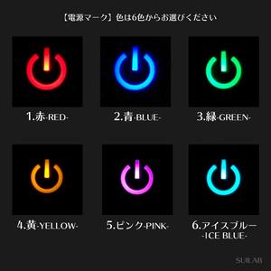 LEDが光るイヤリング(ぱっちんタイプ/片耳販売)