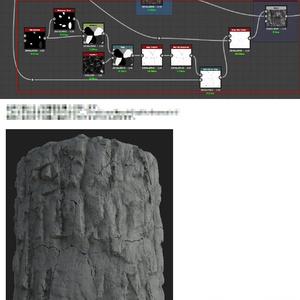 SubstanceDesignerでつくるマテリアルvol.2 【崖】