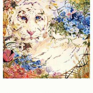 ポストカード 「花と乙女」