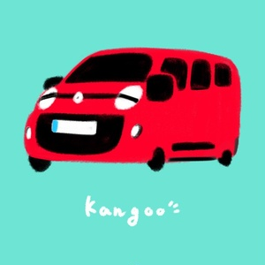 【予約商品】あなたの愛車 ゆるく描きます!