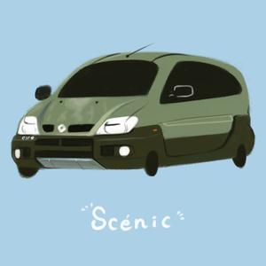 あなたの愛車 ゆるく描きます!【愛車のみ】
