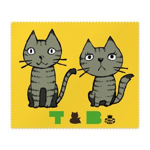 T&B マイクロファイバークロス(イエロー)