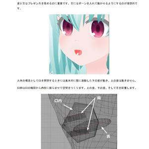 VRアバターのデザイン
