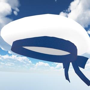 ホワイトキュートベレー帽