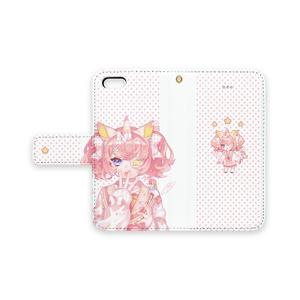 ユニコーンちゃんiPhoneケース(手帳型)