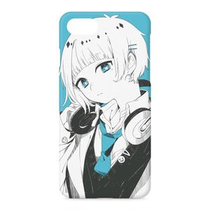 モノクロ+1(みおくん)iPhoneケース