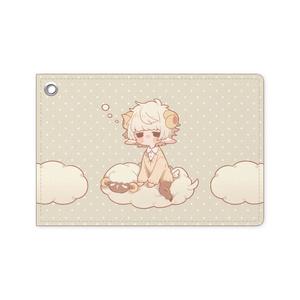 ひつじ雲パスケース