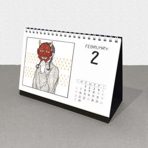 卓上カレンダー   2021.04 - 2022.03