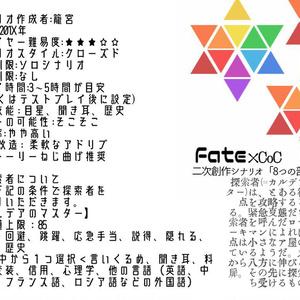 【CoCシナリオ】8つの部屋