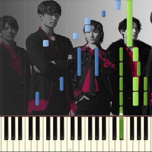 Imitation rain ピアノソロ中級楽譜