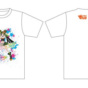 Amy × でちゃう!コラボ Tシャツ【宮古島ロックフェスティバル2019ver.】