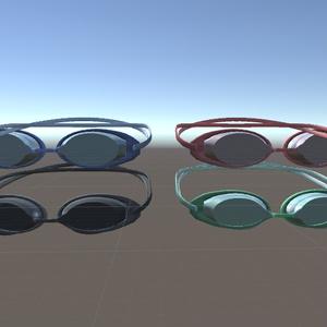 水陸両用眼鏡.unitypackage (水中メガネ、ゴーグル)