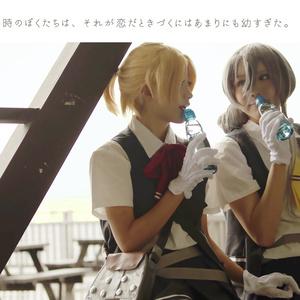 【DL版】潮風と恋のエチュード【第四駆逐隊コスプレ百合写真集】