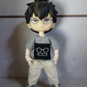 ヒゲメガネTシャツ(オビツ11)