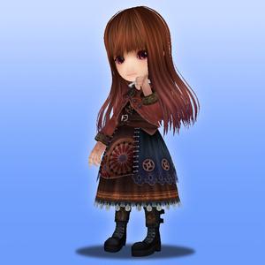 オリジナル3Dモデル『小蘭-Syaoran-』