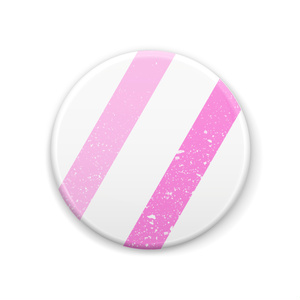 こよりちゃんバッチ『Pink Border』44mm