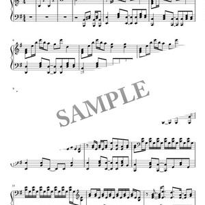 【楽譜】ボカロ「裏表ラバーズ 」初音ミク ピアノ譜