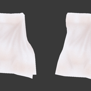 3Dデータ/巻きバスタオルモデル&テクスチャ