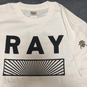 【甲斐莉乃 落書きTシャツ1時間】蝉Tシャツ(サインありチェキ券1枚付き)
