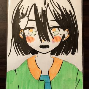 手描きイラスト サト