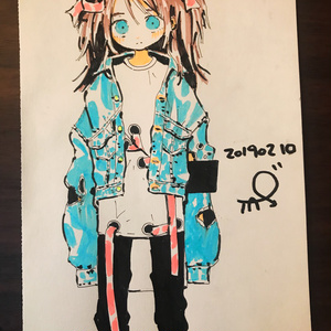 手描きイラスト01
