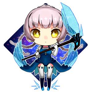 魔女アクキー Ver.ホシヨミ