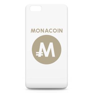 iPhone6 Plusケース モナコイン 文字有 メダル色