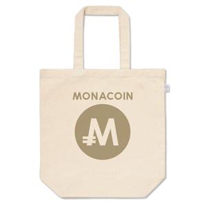 トートバッグ M モナコイン 文字有 メダル色