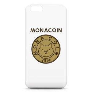 iPhone6ケース リアルモナコイン表柄 文字有 メダル色