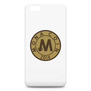 iPhone6 Plusケース リアルモナコイン裏柄 文字無 メダル色