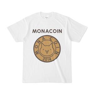 Tシャツ リアルモナコイン表柄 文字有 メダル色