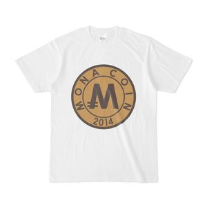 Tシャツ リアルモナコイン裏柄 文字無 メダル色