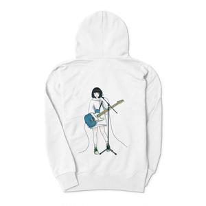 ギター少女パーカー