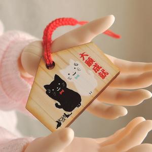 ※直販限定 缶バッジ 黒猫
