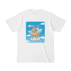 ジラッフon the sky Tシャツ