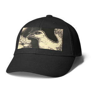 [ morning bird. ] キャップ黒.