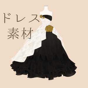ドレス無料素材