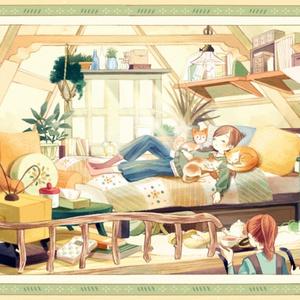 イラスト集「二段ベッドで見る夢」