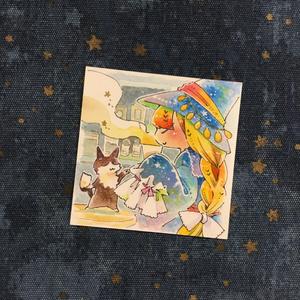 【イラスト原画】ティータイムの魔女