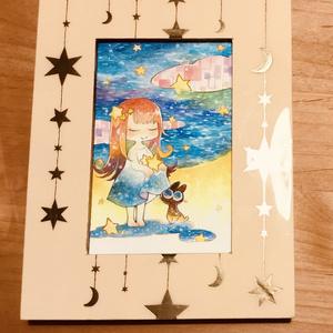 【イラスト原画】星集め
