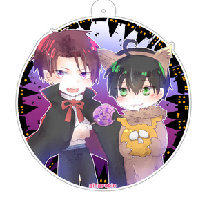 村崎×緑 ハロウィンアクリルキーホルダー