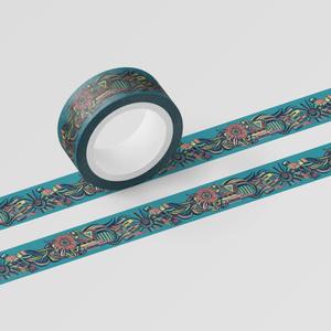 幾何学テキスタイルマスキングテープ