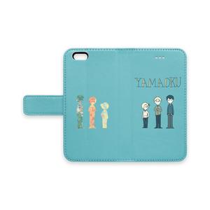 【手帳型iPhoneケース】YAMAOKU