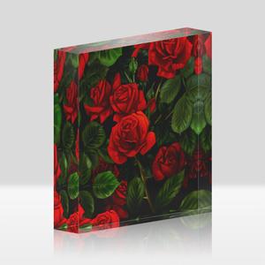 薔薇アクリルブロック(色違い有)