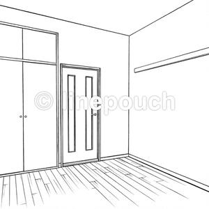 1Kの洋室