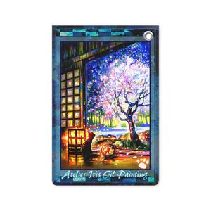 パスケース「和みの夜桜」